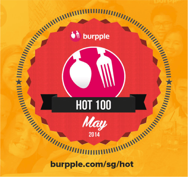'Hot 100' on Burpple