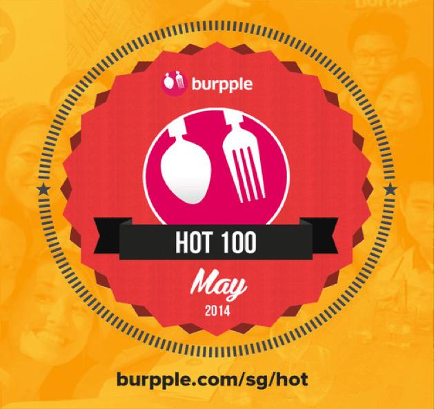 'Hot 100' on Burpple